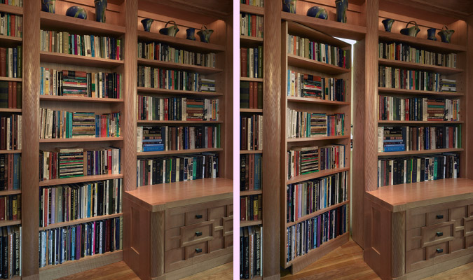 Secret Door Bookcase 2