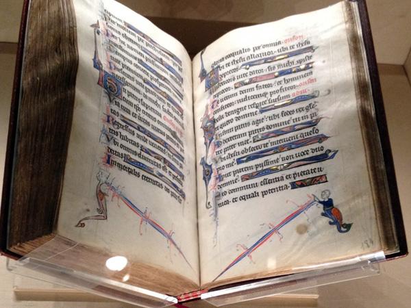 medieval illuminated prayer book