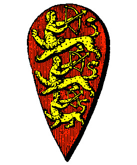 the Coat of Arms of King Stephen of England